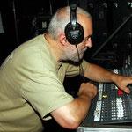Fein-Tuning. Harry Tittel ist das Ohr von KARAT, der Klangmeister.