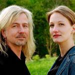 Bernd Römer mit seiner Tochter Julia am 5. Mai 2005 in Berlin.