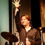 Claudius´ erster Auftritt am 8. April 2005 im Erfurter DasDie. Hier startet KARAT traditionell die Tour-Saison.