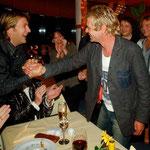 Am Morgen des 26. November 2005. Die Aftershowparty einer TV-Sendung geht nahtlos in den Geburtstag von Matthias Reim über.
