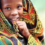 ... die in der Nyae Nyae Conservancy nahe der kleinen Gemeinde Tsumkwe leben...