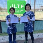 3位トーナメント優勝 志水・桑野ペア