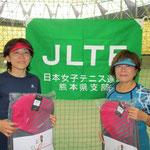 優勝(55歳以上の部)松島・木田ペア