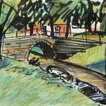 Kanal in Friedrichstadt