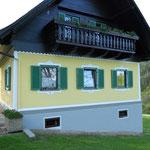 Holzanstrich - Fenster - Balken - Fassade