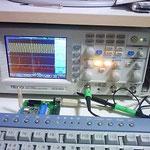 250MHz対応ディジタルオシロスコープ