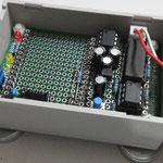 無線モジュール外した状態の子機回路外観(右上部から撮影)