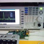 3GHz対応スペクトラムアナライザー