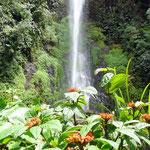 Der Wasserfall Los Frailes