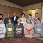 1日目 五藤宗紫先生、今村宗和先生を囲んで、参加者の皆様と