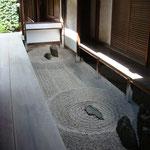 大徳寺 龍源院坪庭 東滴壺(とうてきこ)