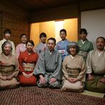 2日目  五藤宗紫先生、今村宗和先生を囲んで、参加者の皆様と