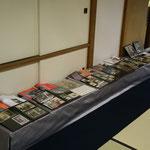 弥栄子先生の幼少時代から現在までのアルバム展示