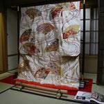弥栄子先生のお嫁入り時の打掛 現在では希少な素晴らしい一品