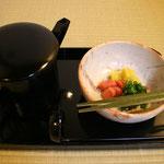 香・沢庵、菜の花、赤蕪