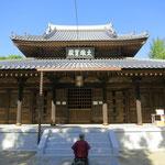 講演終了後、帰京前に寄り道して安国山聖福寺へ。建久6(1195)年に明庵栄西禅師が開いた日本で最初の禅宗寺院。