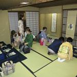 弥栄子先生 命名軸や岡本太郎さんの画、勅使河原蒼風さんの書など