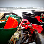 Fischerutensilien in Baabe