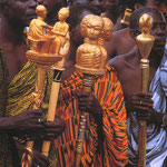 Des linguistes Ashanti (Ghana)