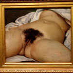 L'origine du monde, de Gustave Courbet. (revient au moins 5 fois)