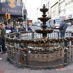 fontaine à Montevideo Uruguay