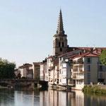 Saint-Girons Le Salat et l'Eglise