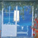 das blaue Zimmer             Privatbesitz