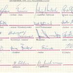 Autogramme 1967/68