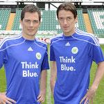 das Adidas Think Blue aus der Saison 2009/2010