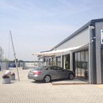 Sonnenschutz Regenschutz C4Sun Ausstellung Weiterstadt