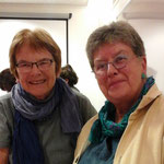 Ursula Nakamura et Martine Gagnebin ADF-SVF Suisse