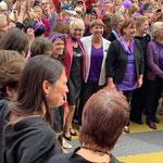 Bern - auch Bundesrätin Viola Amherd und Nationalratspräsidentin Marina Carobbio geniessen es.