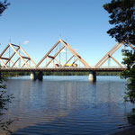 Brücke Mäntyharju, Holzkonstruktion