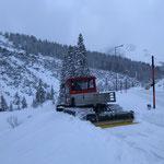 Snow Rabbit, Wegepräparierung Bauhof-Lech