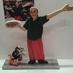 Personalisierte Figur nach Fotovorlage  (nach Foto - ca. 35 cm hoch aus Sperrholz)