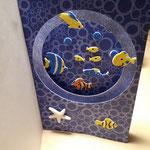 F 16 - Tunnelkarte Maxi 7,00€ - mit passendem Umschlag