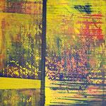 KERSTIN SOKOLL, Naturgewalten, 2018, J014, 100 x 100 cm, SOLD