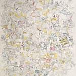 Kristin Finsterbusch, Iphofener Gips, Tiefdruck, vernis mou, Tusche, Bleistift, 2012, 50 x 40 cm