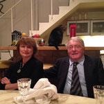 Catherine Millet, Claude Lanzmann. 2-2016 Ph J. Henric