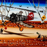 Peter Browne A LAND OF SWEEPING PLANES 250X200mm