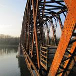 125 Jahre Rheinbrücke Wintersdorf , © alle Fotos Peter Diziol
