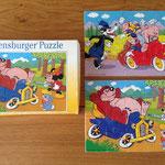 € 2,50 Ravensburger puzzel biggetjes en de boze wolf