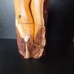 Pfeffermühlen Set Eibe Holz Unikat Einzelstück Gewürzmühle handarbeit