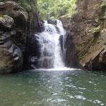二段8mの滝