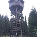 """Das Ziel, der """"Ziegenhelle-Turm""""..."""