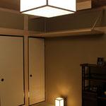 シーリングライトと間接照明、浄とのコーディネーション