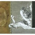 3.- La Isla del Hada (III), Aguafuerte y aguatinta, mancha 38 x 27 cm., soporte 38 x 27 cm.
