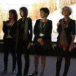 Une partie de l'équipe de Ciné Sans Frontières, cérémonie de Clôture