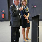 Monsieur Lummeaux et Martine Lavaud, cérémonie d'ouverture