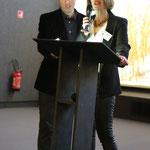 Martine Lavaud et Fabien Labarthe, Cérémonie de Clôture